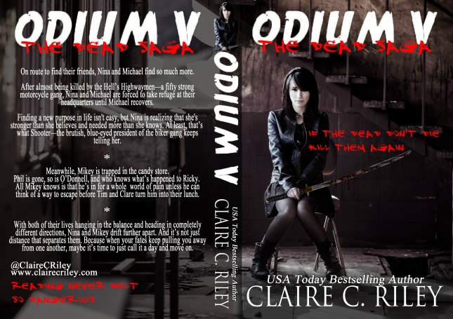 Odium 5 cover reveal full wrap